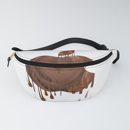 Melted Apple Chocolate (2) Fanny Pack