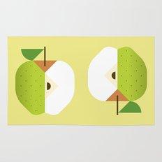Fruit: Apple Golden Delicious Rug