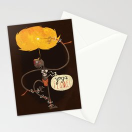 Yoga Flame Stationery Cards