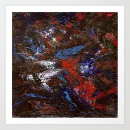 In Darkness Acrylic Abstract Art Print