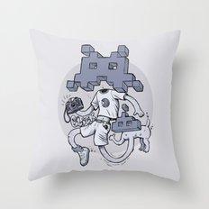 Videofoto Throw Pillow
