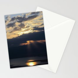 Sunrise over the Dead Sea Stationery Cards