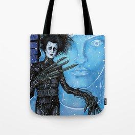 Edward Scissorhands Johnny Depp Tote Bag