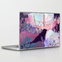 bridge Laptop & iPad Skins featuring Bridge by sarlisart