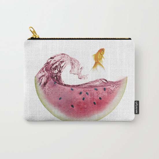 watermelon goldfish Carry-All Pouch