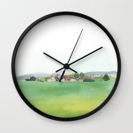 field Wall Clock