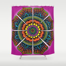 Bollypop Bubblegum Shower Curtain