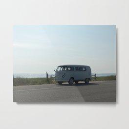 VW Minivan Metal Print