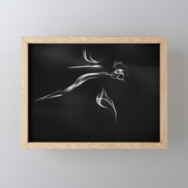 The Ghost Framed Mini Art Print