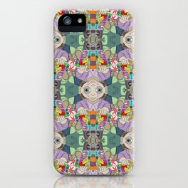 Otto the Grocer tessellation iPhone Case