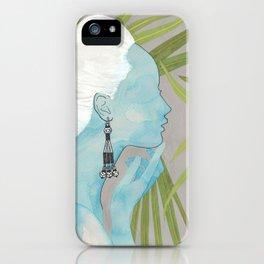 girls with silver jewelry / palmiye II iPhone Case