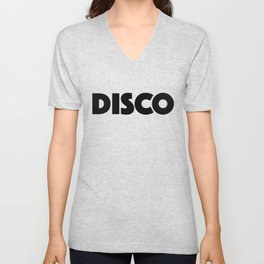 Disco Unisex V-Neck