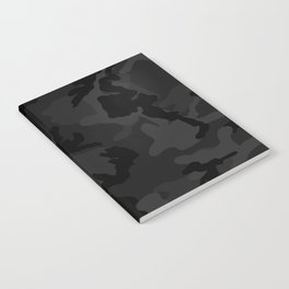 Camouflage Black Notebook