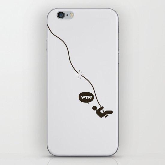 WTF? Columpio! iPhone & iPod Skin