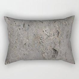 Textured Wall rustic decor Rectangular Pillow