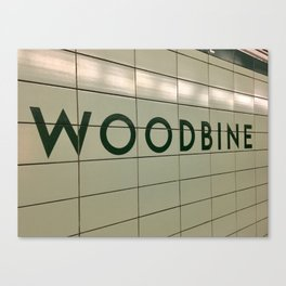Woodbine Canvas Print