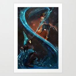 Legend of Korra Art Print