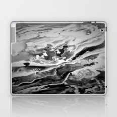 Deep Sea Black Focus Marble Laptop & iPad Skin