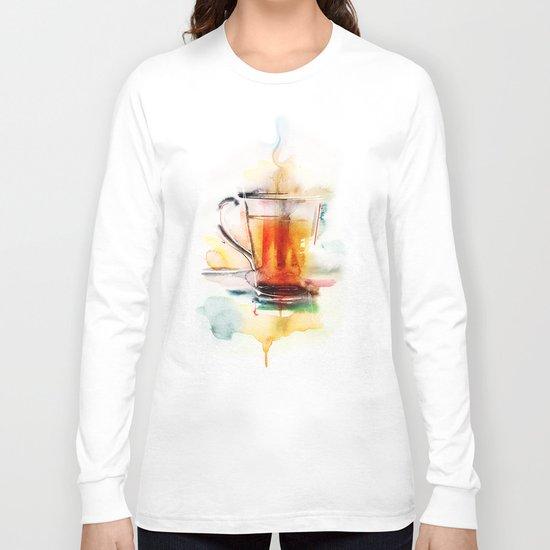 Black tea Long Sleeve T-shirt