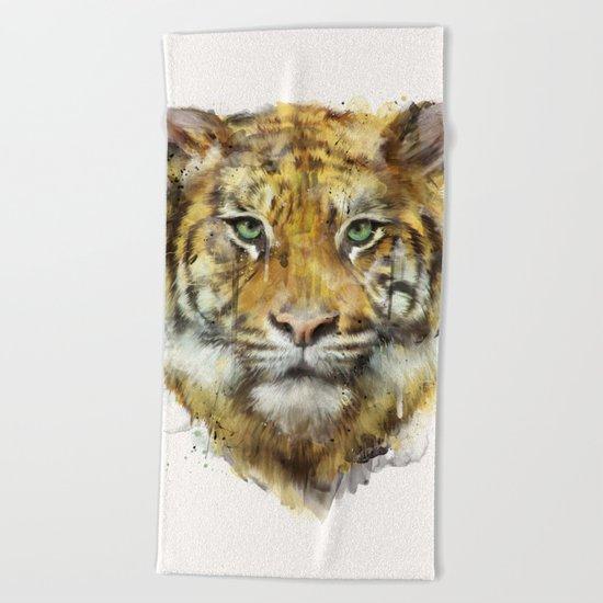 Tiger // Strength Beach Towel