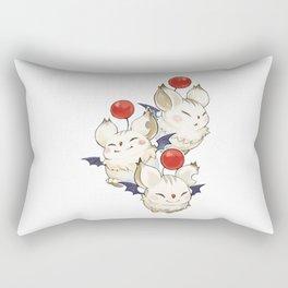 Moogle Moogle final fantasy Rectangular Pillow