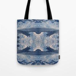 Nordic Blues Tote Bag