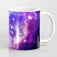 galaxy Mugs featuring Galaxy. by Matt Borchert