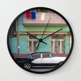Old timer bw Wall Clock