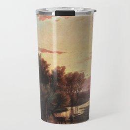 Un tramonto dopo la pioggia: A sunset after rain 1864 Travel Mug