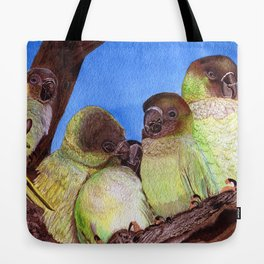 Birds of a Feather by Maureen Donovan Tote Bag