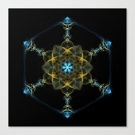 The Beginning of Life Mandala Canvas Print