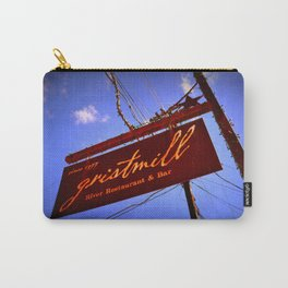 Gristmill Sign Carry-All Pouch
