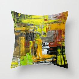 chaotic neutral Throw Pillow