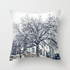 The Urban Giving Tree Throw Pillow