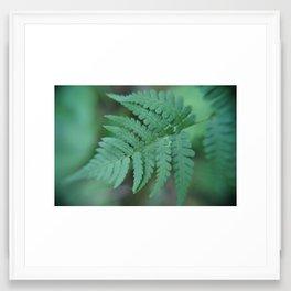 Living The Green Life Framed Art Print