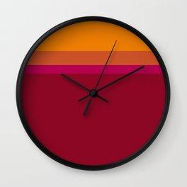 nectarine Wall Clock