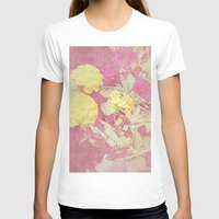 vintage floral T-shirts featuring Floral by ieIndigoEast