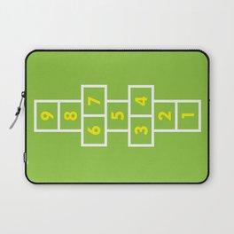 Hopscotch Green Laptop Sleeve