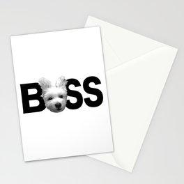 Maltese Boss Stationery Cards