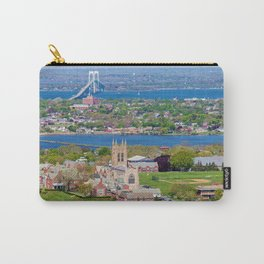 St. George's and Newport Bridge - Aquidneck Island, Rhode Island Carry-All Pouch