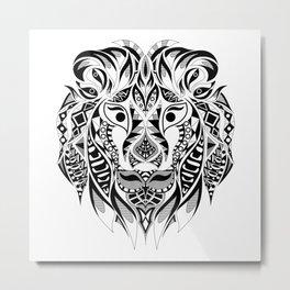 Señor León Metal Print