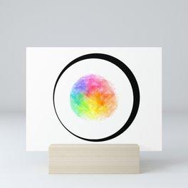 Rainbow Globe Mini Art Print