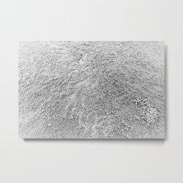 Pearl Sand Metal Print
