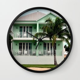 Florida Key Lime Wall Clock