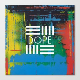 Color Chrome - dope graphic Canvas Print