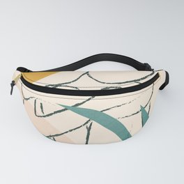 Minimal Line in Nature I Fanny Pack