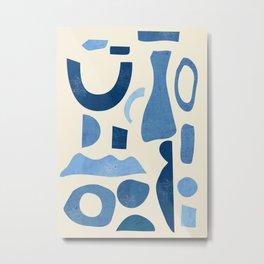 Abstract Shapes 38 Metal Print
