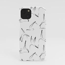 pilates pattern1 iPhone Case