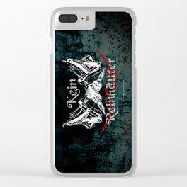 Kein Reinhäuter Clear iPhone Case