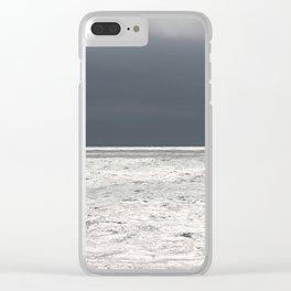 Ominous Ocean Clear iPhone Case